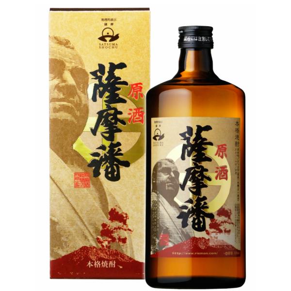 薩摩藩 原酒 さつまはん 化粧箱入 37度 720ml 指宿酒造 芋焼酎 鹿児島