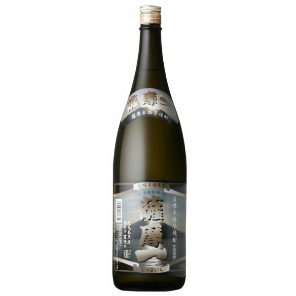 薩摩一 25度 1800ml 若松酒造 芋焼酎 鹿児島