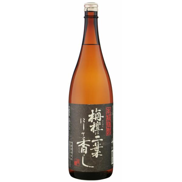 栴檀は二葉にして香し 黒 25度 1800ml 中俣酒造 芋焼酎 鹿児島