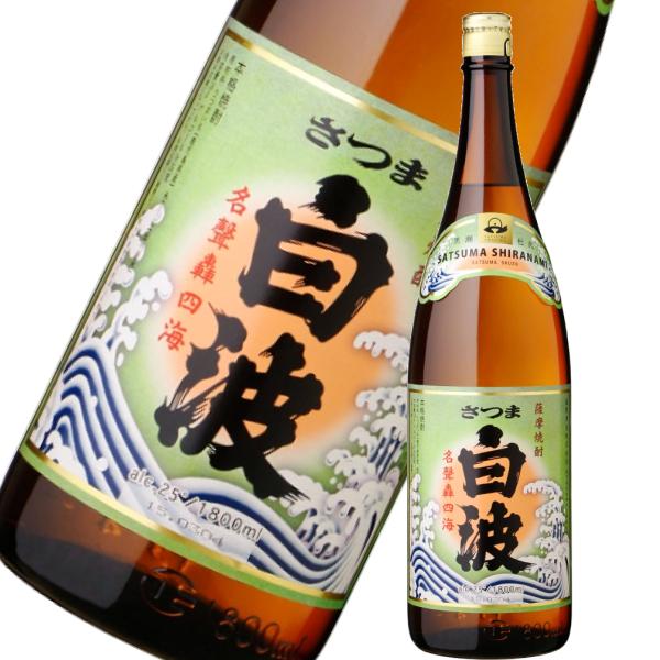 白波1800ml芋焼酎薩摩酒造