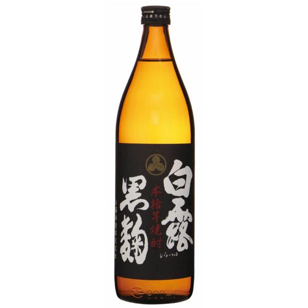 白露 しらつゆ 黒麹 25度 900ml 白露酒造 芋焼酎 鹿児島