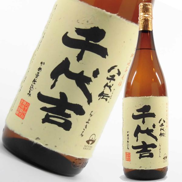 千代吉 25度 1800ml 芋焼酎 八千代伝酒造 限定焼酎 通販 鹿児島 販売店限定