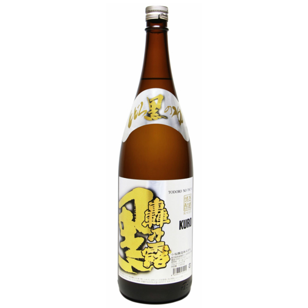 轟乃露 黒 とどろきのつゆ 25度 1800ml 小牧酒造 芋焼酎 鹿児島