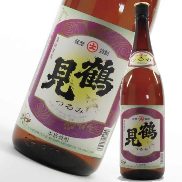 鶴見 つるみ 25度 1800ml 芋焼酎 大石酒造 鹿児島 通販