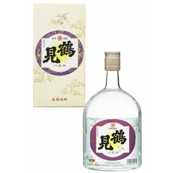 鶴見 つるみ 箱入 25度 720ml 大石酒造 芋焼酎 鹿児島