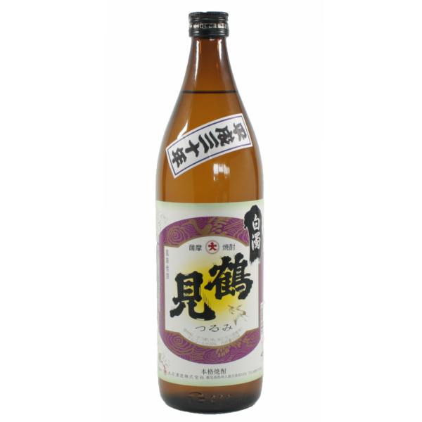 鶴見 白濁無濾過 つるみ 25度 900ml 芋焼酎 大石酒造 季節限定 通販