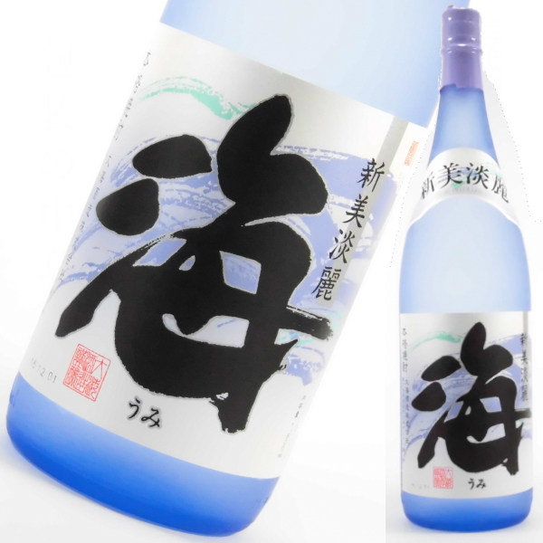 海 1800ml 芋焼酎 大海酒造 限定焼酎 鹿児島 定価 通販