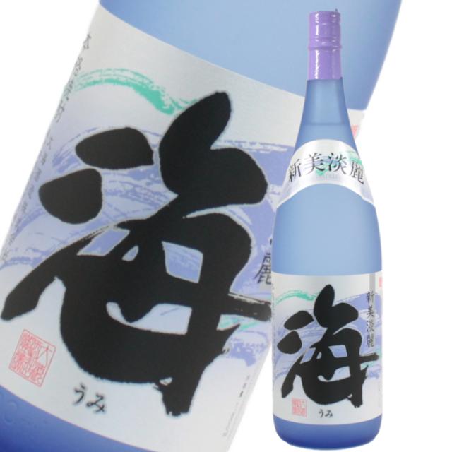 海 うみ 25度 1800ml 芋焼酎 大海酒造 限定焼酎 鹿児島 定価 通販