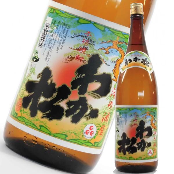 わか松 25度 1800ml 芋焼酎 若松酒造 通販