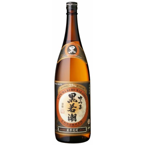 さつま黒若潮 25度 1800ml 若潮酒造 芋焼酎 鹿児島
