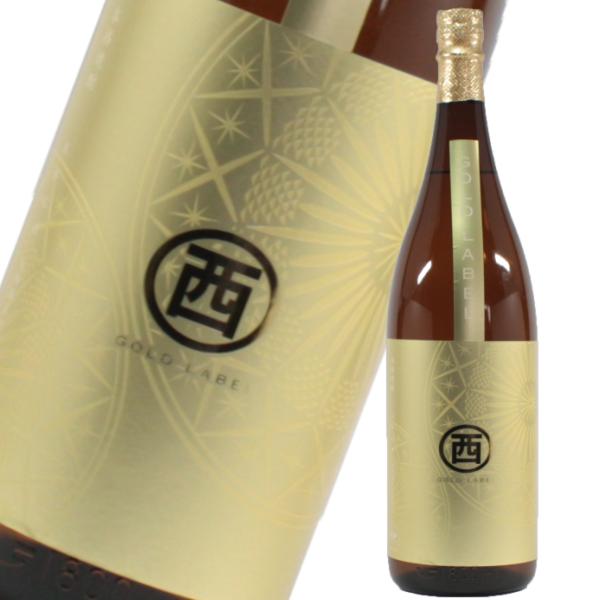 【1,200本限定】 丸西ゴールドラベル 25度 1800ml 丸西酒造 芋焼酎 鹿児島 特約店限定