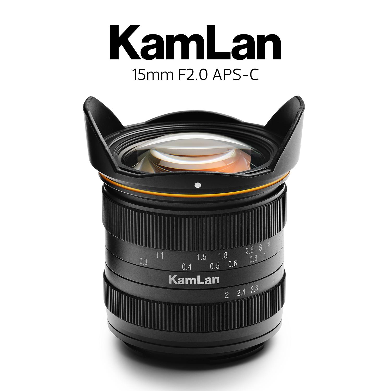 KAMLAN (カムラン) 15mm F2  各社ミラーレスカメラ用