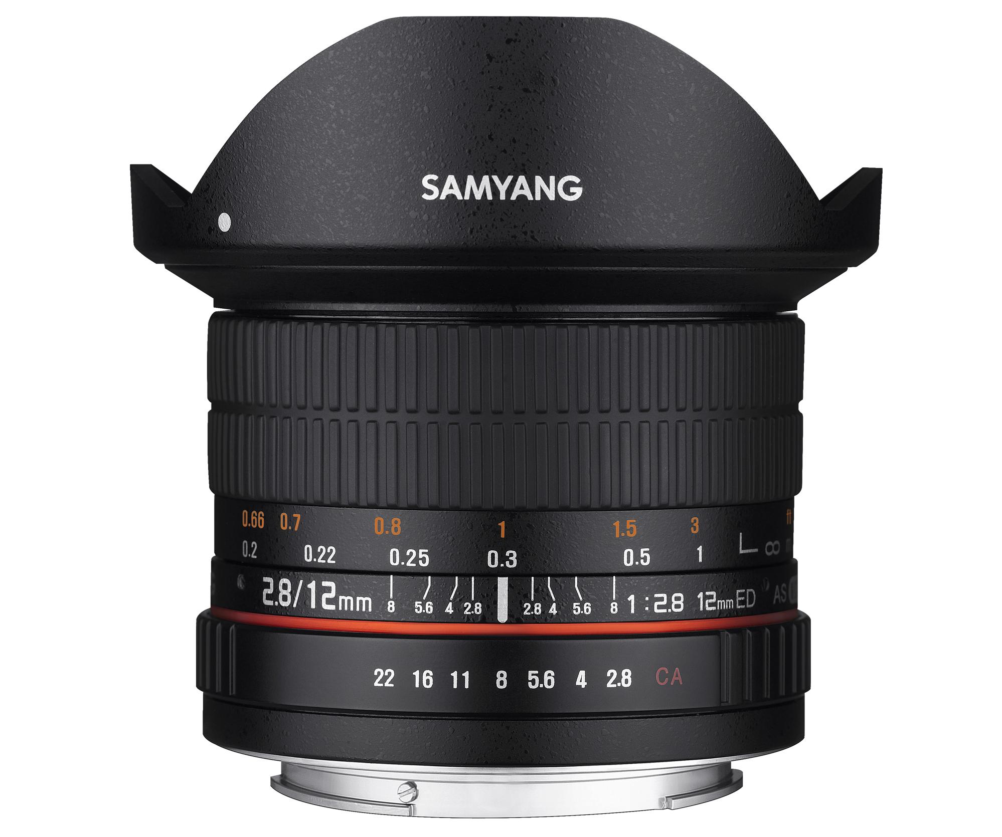 SAMYANG 12mm F2.8 ED AS NCS FISH-EYE  ※在庫お問い合わせください