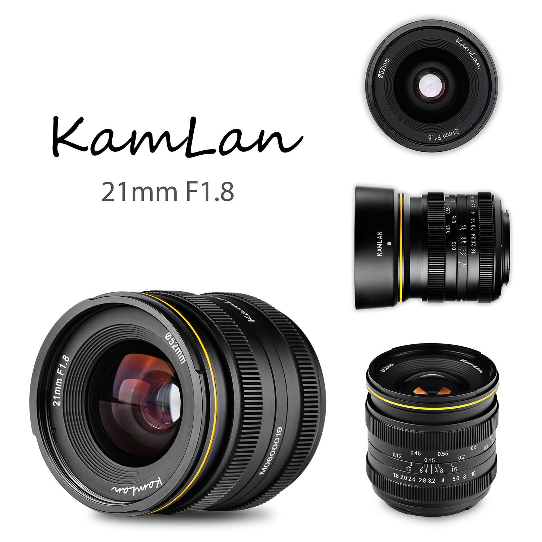 ※好評販売中 KAMLAN (カムラン)FS 21mm F1.8  各社ミラーレスカメラ用