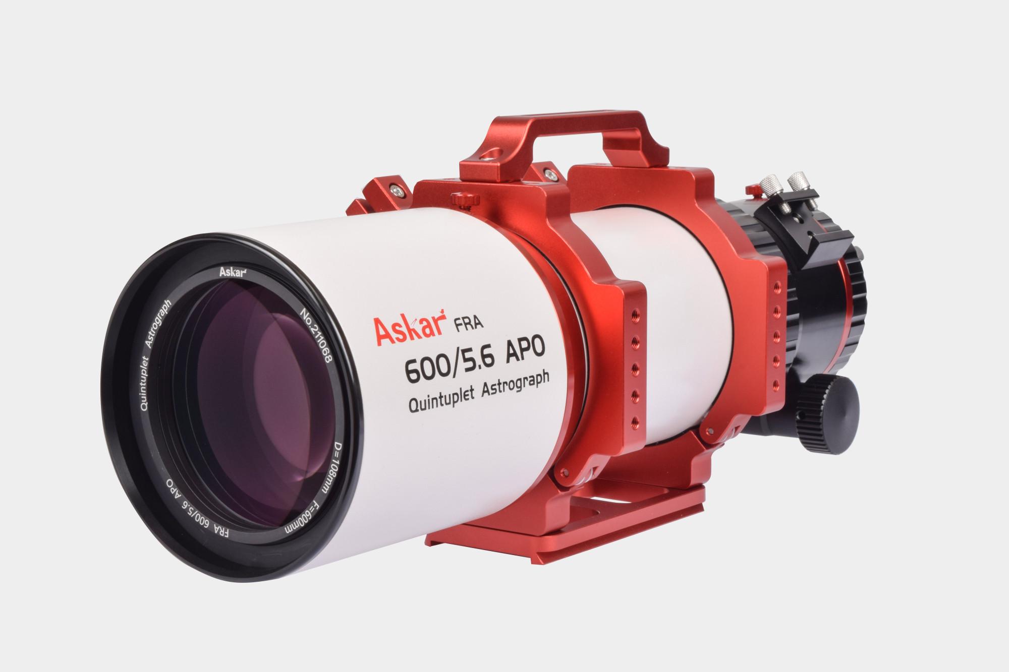 【只今ご予約承り中】Askar 『FRA600』 口径108mmF5.6フラットフィールドアストログラフ