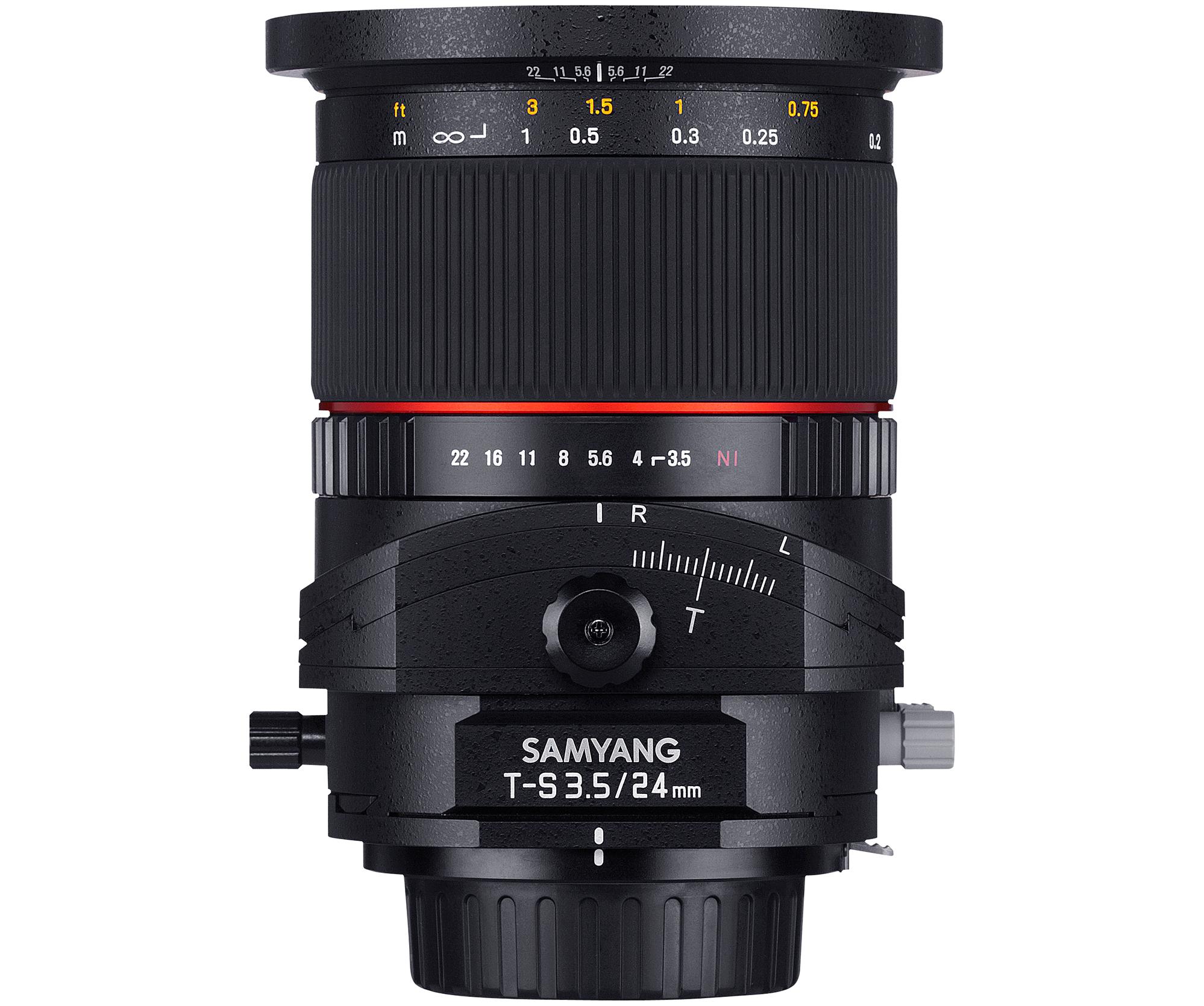 SAMYANG TILT/SHIFT LENS 24mm F3.5 ED AS  ※在庫お問い合わせください