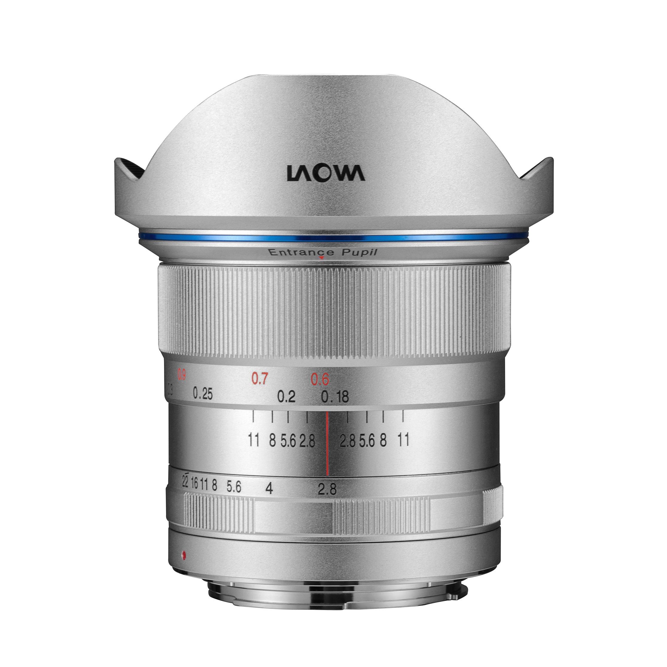 LAOWA  12mm F2.8 Zero-D SV 【サイトロンジャパン直営店限定シルバーカラー!】