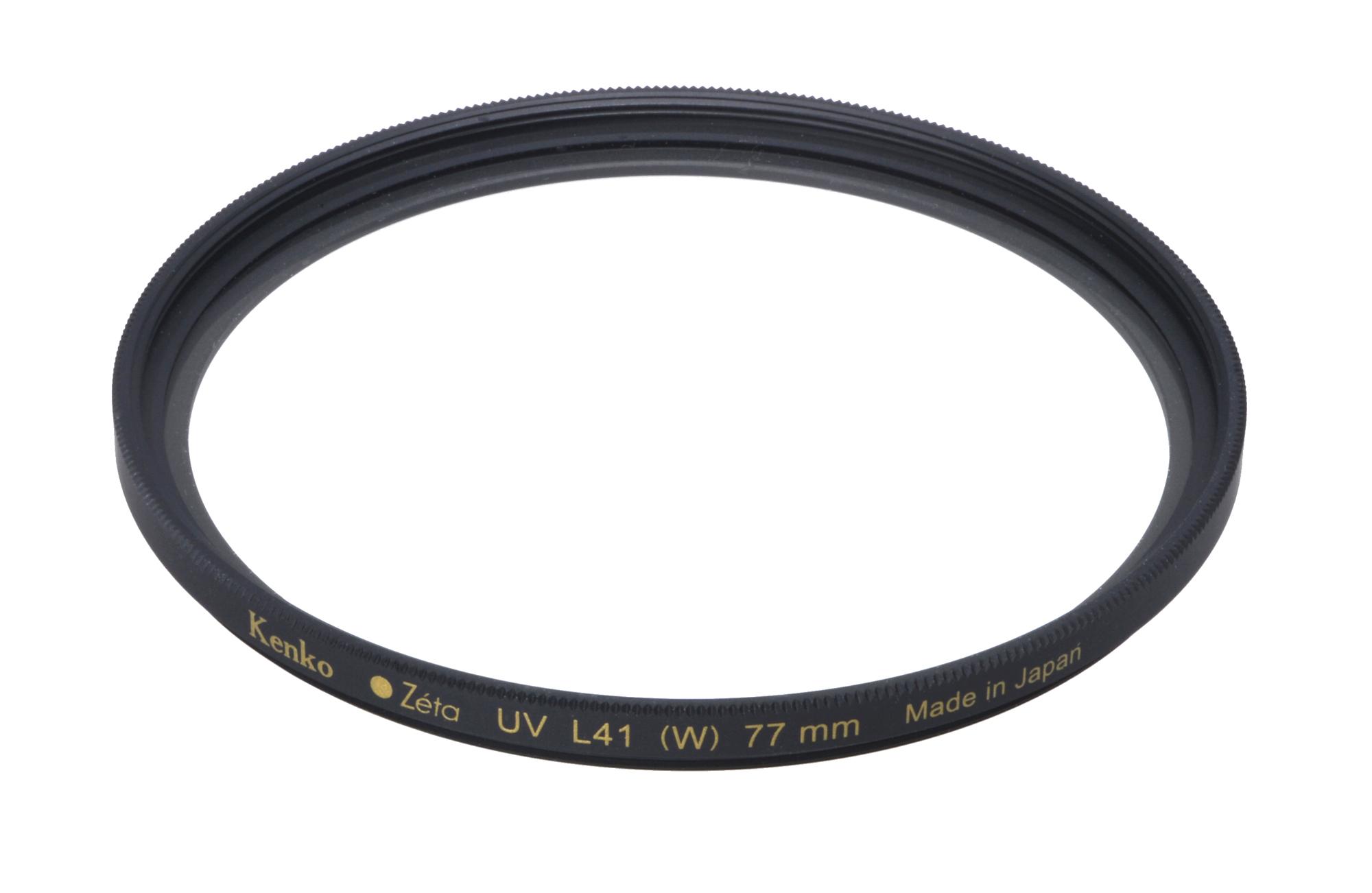 ケンコートキナー Zeta UV L41  保護フィルター 各サイズ