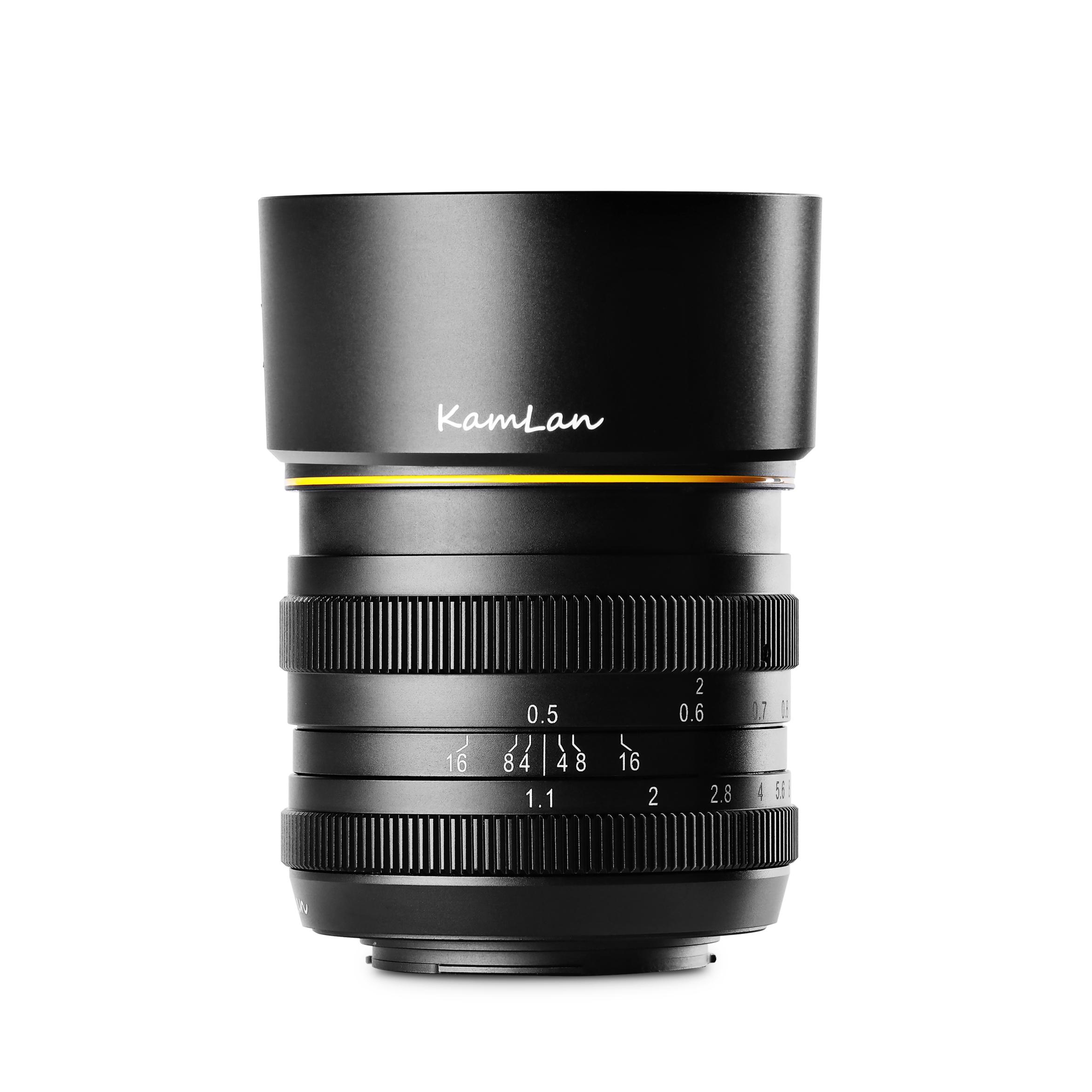 KAMLAN (カムラン)FS 50mm F1.1  各社ミラーレスカメラ用 ※納期お問い合わせください