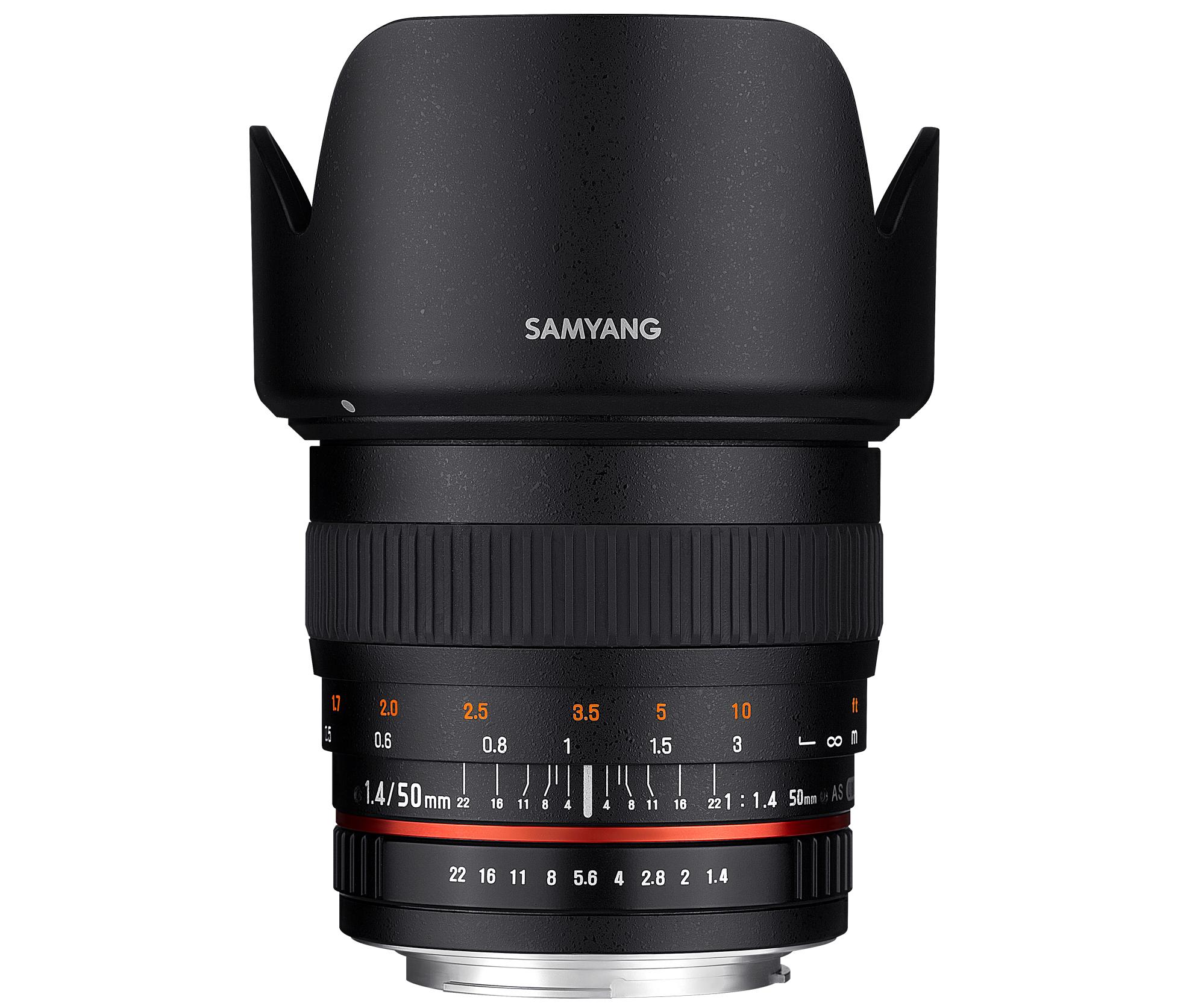 SAMYANG 50mm F1.4 AS UMC ※在庫お問い合わせください