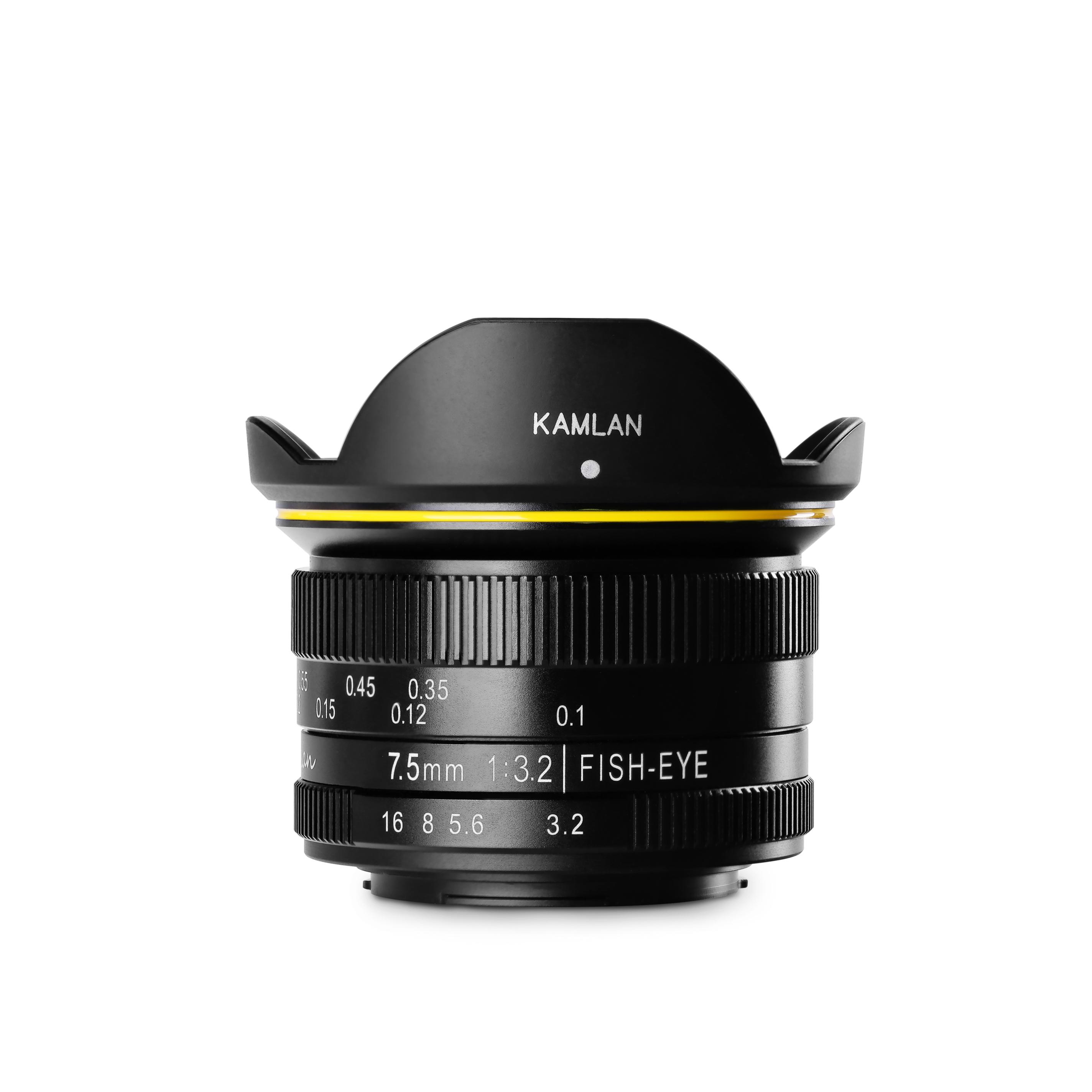 KAMLAN (カムラン)FS 7.5mm F3.2 MFT マイクロフォーサーズ用