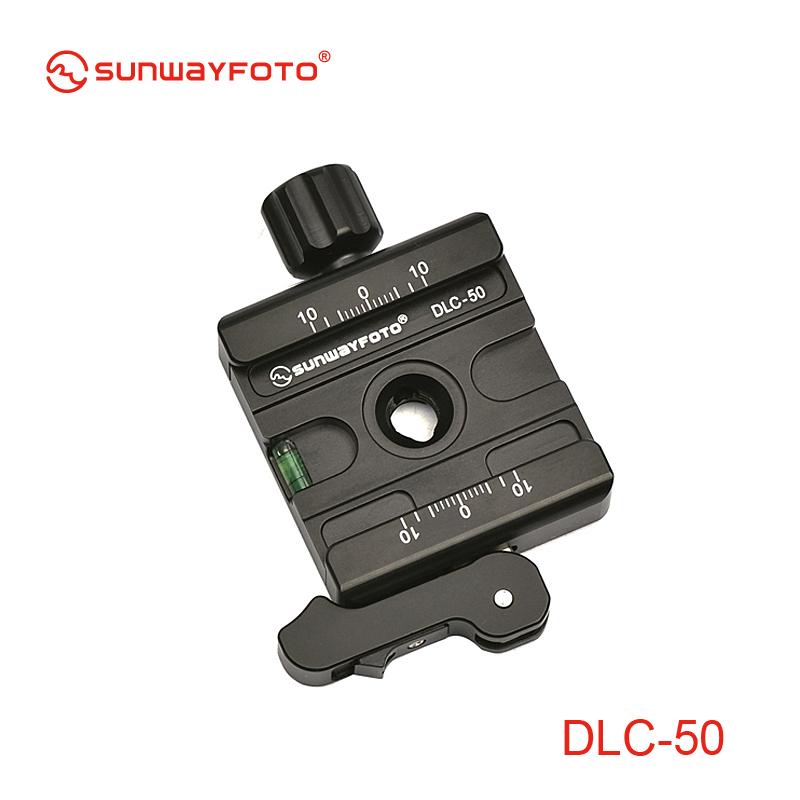 SUNWAYFOTO DLC-50 クイックリリースクランプ