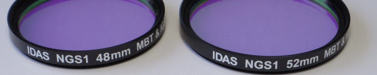 IDAS(アイダス) NGS1 大気光(夜天光)抑制フィルター  各サイズ