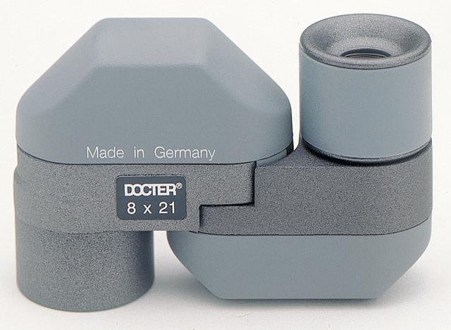 DOCTER compact 8×21 C mono grey