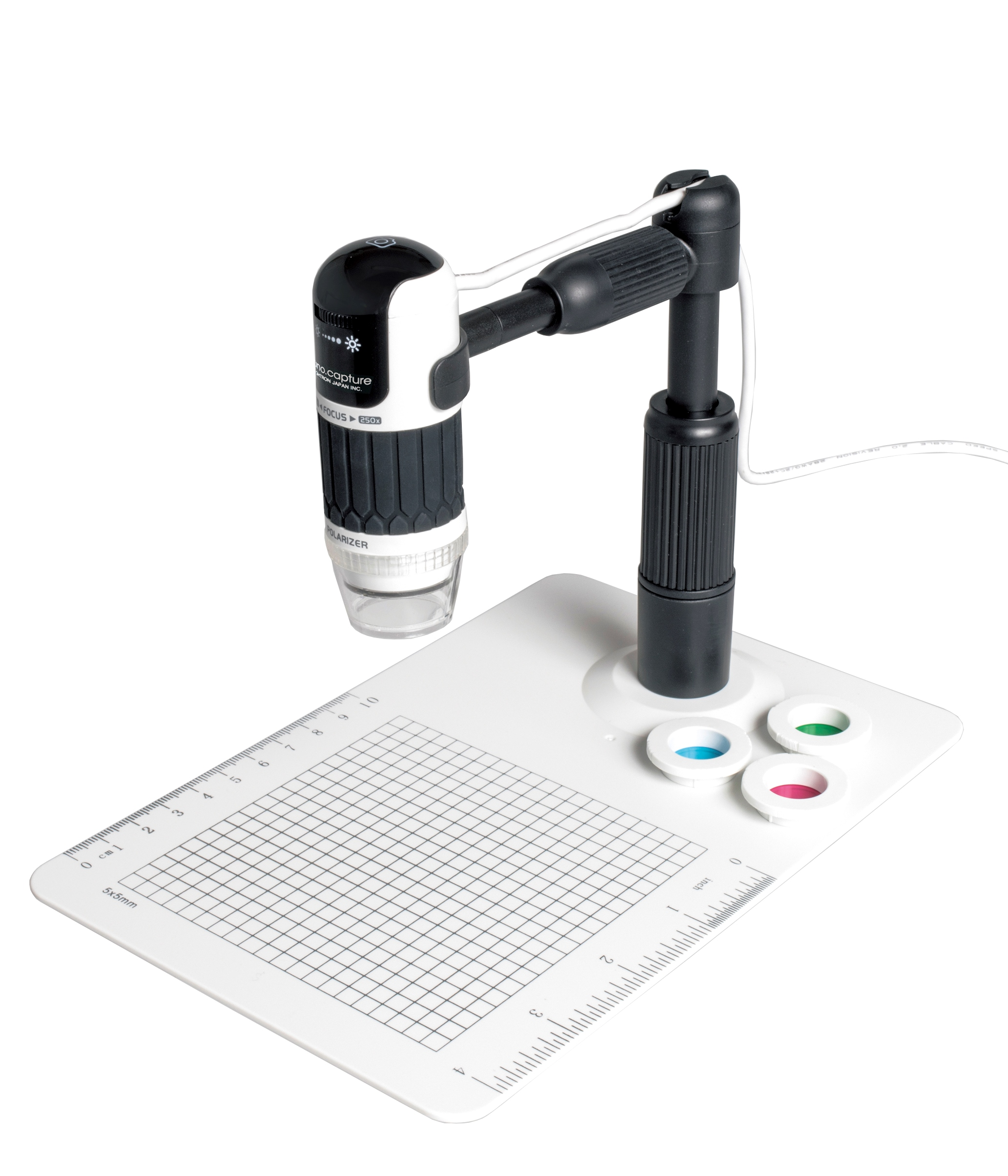 コンパクトデジタル顕微鏡 nano.capture PRO ナノ・キャプチャプロ