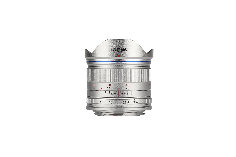 【※少量在庫有り】Laowa 7.5mm F/2 MFT シルバー マイクロフォーサーズ用【サイトロンジャパン直販店限定カラー!】