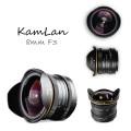 ※好評販売中 KAMLAN (カムラン)8mm F3.0 フィッシュアイ 各社ミラーレスカメラ用