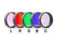 「LRGBC」カラー合成用フィルター(5枚セット) 31.7mm径