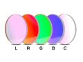 「LRGBC」カラー合成用フィルター(5枚セット) φ36mm径