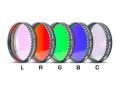 「LRGBC」カラー合成用フィルター(5枚セット) φ48mm径