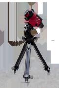 【シュミットオリジナルセット!】 Kenko自動追尾ポータブル赤道儀 スカイメモS + 微動雲台 + 小型三脚[T1A20]
