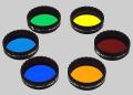 惑星観望用  高精度カラーフィルタ- 6枚セット  48mm(2インチ)サイズ