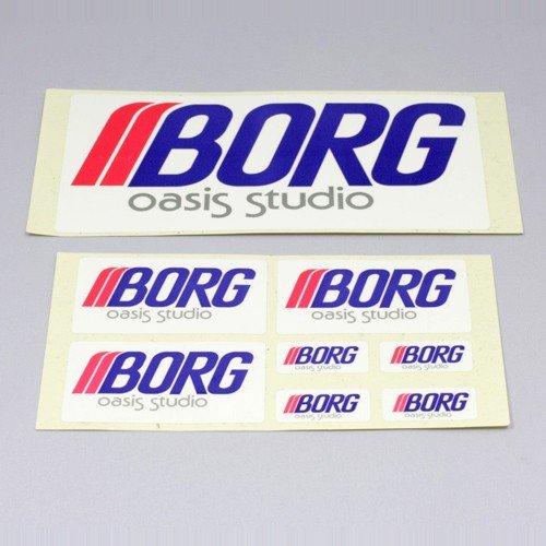 BORG 【5109】 ボーグステッカー
