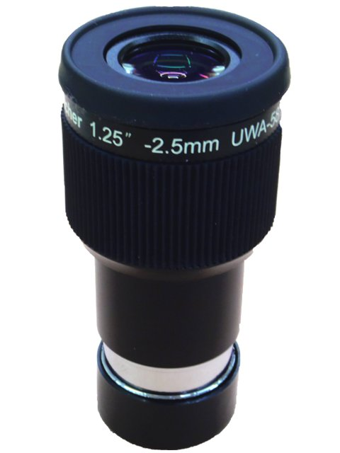 Sky Watcher アイピースUWA 2.5mm58度