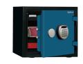 【※4月末まで設置費無料】A119R3WRBLUE ディプロマット デジタルテンキー式耐火・耐水デザイン金庫