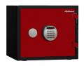 【※4月末まで設置費無料】A119R3WRRED ディプロマット デジタルテンキー式耐火・耐水デザイン金庫