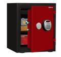 【※4月末まで設置費無料】A125R3WRRED ディプロマット デジタルテンキー式耐火・耐水デザイン金庫