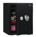 在庫限りB級品(キズ・ヘコミ有) A530R3WRBLACK ディプロマット デジタルテンキー式耐火・耐水デザイン金庫