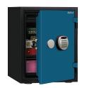 A530R3WRBLUE ディプロマット デジタルテンキー式耐火・耐水デザイン金庫