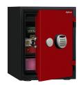 【※11月末まで設置費無料】 A530R3WRRED ディプロマット デジタルテンキー式耐火・耐水デザイン金庫