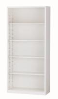 【国産】オープン書庫 ALZ-K36 幅880×奥行380×高さ1860mm