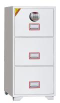 在庫限りB級品(キズ・ヘコミ有) DFC3000R3 ディプロマット デジタルテンキー式 耐火ファイリングキャビネット金庫