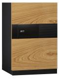 在庫限りB級品(キズ・ヘコミ有)DPS7500(扉色ウッド)ディプロマット NEXT デジタルテンキー式金庫
