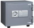 【数量限定】 ES-9FN エーコー(EIKO) 指紋認証式 小型耐火金庫(非常キー付)