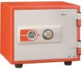 【設置費0円】ES-9YR(オレンジ) エーコー(EIKO)耐火金庫 ダイヤルタイプ