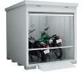 イナバ バイク保管庫 FXN-2226HY(床付タイプ) 積雪地型 間口2210×奥行2630×高さ2375mm